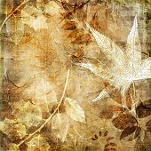 vintage leafy background