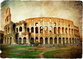great Colisey - retro styled picture
