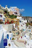 beautiful pictorial Santorini