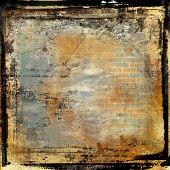 grunge framed film background