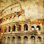 stock photo of ancient civilization  - Colosseum  - JPG