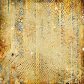 shabby golden paper