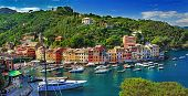 stock photo of genova  - Portofino - JPG