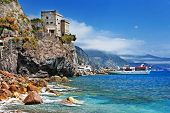 Italian holidays - beautiful Monterosso, Cinque terre