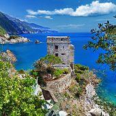 Pictorial Italian coast -Monterosso