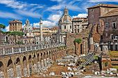 greatest italian landmarks series - Roman Forums