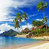 beautiful tropical scenery. El-Nido, Philippines