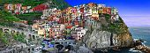 colors of sunny Italy series - Monarolla, Cinque terre