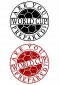 World Cup Rubber Stamp