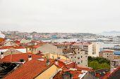 Vigo, Galicia On Rainy Day
