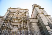 St. James Cathedral In Pontevedra, Galicia