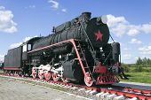 Russian Freight Locomotive 50-ies