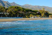 Marbella sea