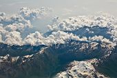 Alps Aerial View