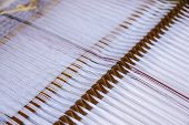 stock photo of loom  - Loom detail - JPG