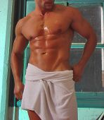 Male In Towel