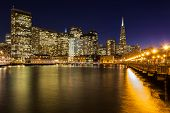 Beautiful San Francisco At Night