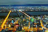 Osaka in Japan