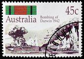 Darwin 1942 Stamp
