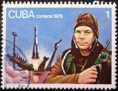 Yuri Gagarin Stamp