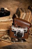 Vintage photo camera.