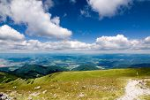 Mountain ridge - National park Little Fatra - Slovakia, Europe