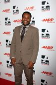 LOS ANGELES - FEB 10:  Malcolm-Jamal Warner at the AARP