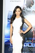 LOS ANGELES - FEB 10: Aimee Garcia at the premiere of Columbia Pictures' 'Robocop' at TCL Chinese Th
