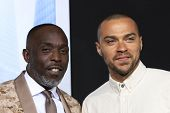 LOS ANGELES - FEB 10:  Michael Kenneth Williams, Jesse Williams at the