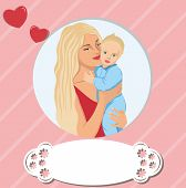 Woman Child Mother's Day Mom Son Family Baby