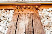 Detail Of Railway Track