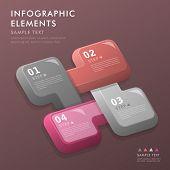 Abstract Option Infographics