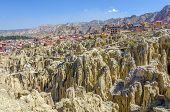 La Paz, Bolivia - Valle de la Luna (Moon Valley)
