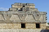 Pyramid, built by the Mayas.