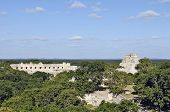 Uxmal, Yucatan, Mexico, 2007. Ancient buildings, built by the Mayas.