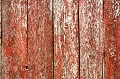 Red Vintage Barnwood Background