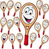 Tennis Racket Cartoon