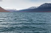 picture of arctic landscape  - Arctic landscape in Greenland around Disko Island - JPG