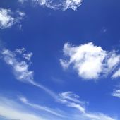 White clouds on the blue sky,Pictures for background