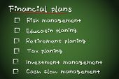 Financial Plans