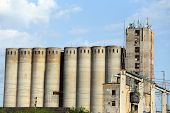 Old Concrete Silos