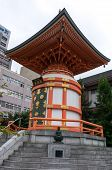 Japanese shinto temple