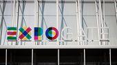Expo Milano 2015 Logo In Milan, Italy
