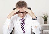 Medical Doctor Suffering Serious Headache
