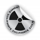 Radioactive Bent Sticker