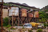 Abandoned mine infrastructure