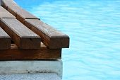 Wooden Deck at The Pool