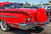 1957 Chevy Impala Rear View.