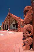 Te Papaiouru Marae, Rotorua, New Zealand - November 11