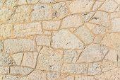 White Cinder Block Brick Wall